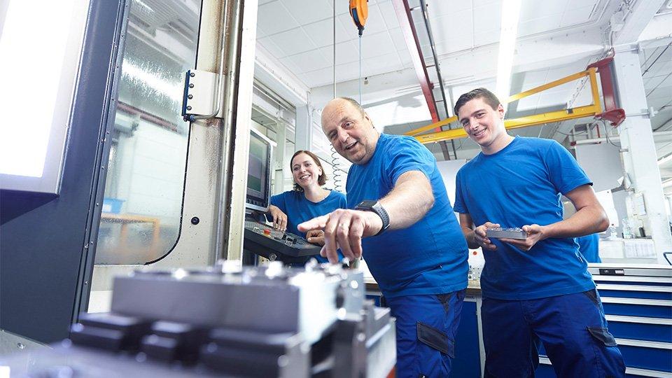 Waldner employees